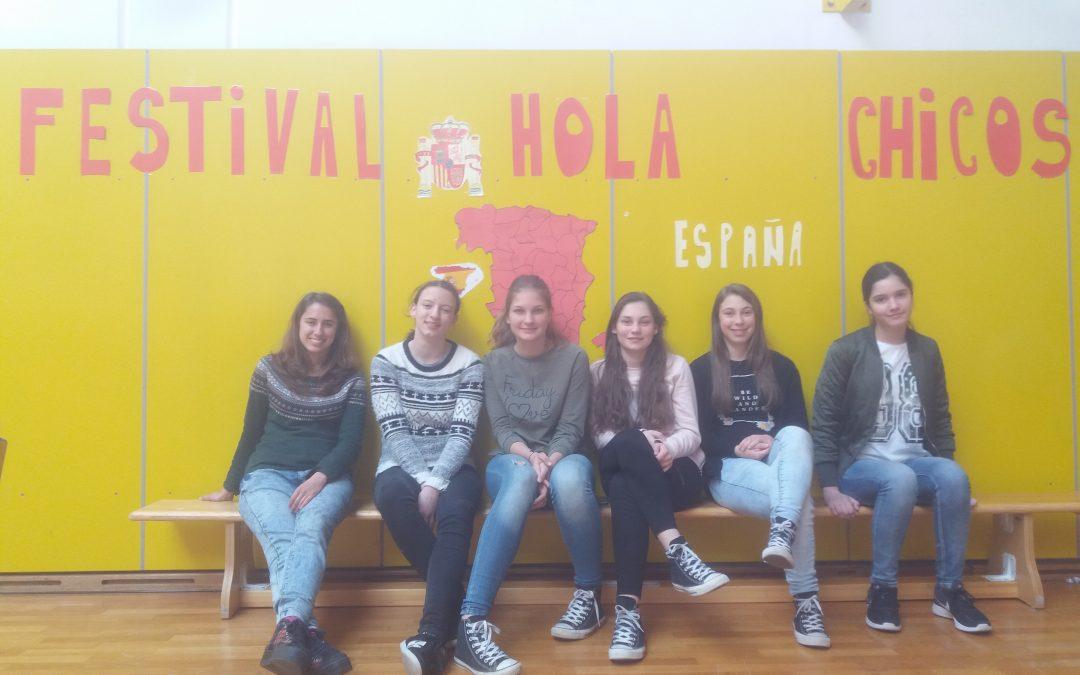 """7. španski festival osnovnošolcev """"¡Hola, chic@s!"""""""