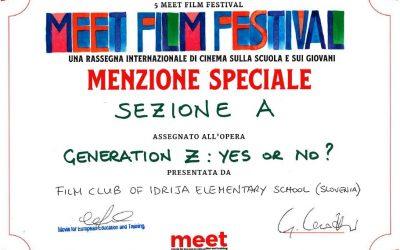 Velik uspeh filma Generacija Z: Ne al' ja? na filmskem festivalu v Rimu
