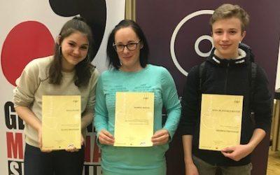 Deveta slovenska GLASBENA OLIMPIJADA – osnovnošolsko državno tekmovanje iz glasbe